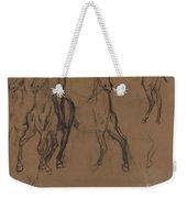 Study Of Horses Weekender Tote Bag