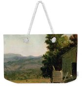 Study Of Old Barn In New Hampshire Weekender Tote Bag