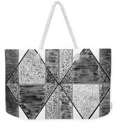Study Of Texture Line And Materials Weekender Tote Bag
