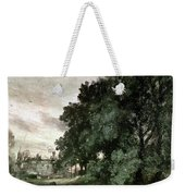 Study Of Trees Weekender Tote Bag by John Constable