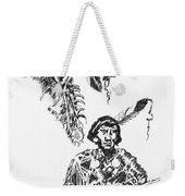 Study Of Two Indians Weekender Tote Bag