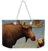 Study Of Two Mammals Weekender Tote Bag