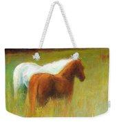 Study Of Two Ponies Weekender Tote Bag