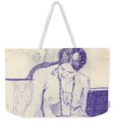 Studying For Exams Weekender Tote Bag