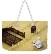 Studying The Quran Weekender Tote Bag