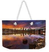 Stumptown Sunset Weekender Tote Bag