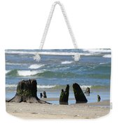 Stumpy Beach Weekender Tote Bag