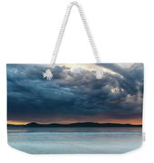 Stunning Cloudy Sunrise Seascape Weekender Tote Bag