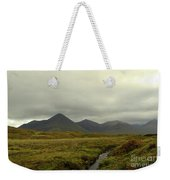 Stunning Countryside In Cuillen Hills With Large Mountains  Weekender Tote Bag