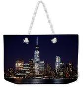 Stunning Nyc Skyline At Night Weekender Tote Bag