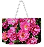 Stunning Pink Roses Weekender Tote Bag
