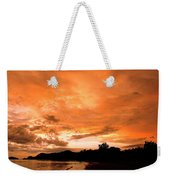 Stunning Tropical Sunset Weekender Tote Bag