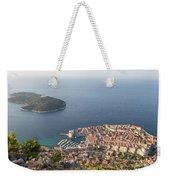 Stunning View Of Dubrovnik In Croatia Weekender Tote Bag