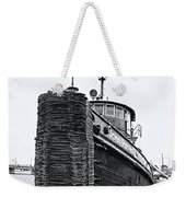 Sturgeon Bay Tug Boat Weekender Tote Bag