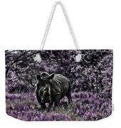 Styled Environment-the Modern Trendy Rhino Weekender Tote Bag