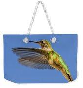 Stylized Hummingbird In Hover Weekender Tote Bag