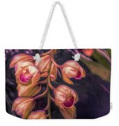 Stylized Orchids Weekender Tote Bag