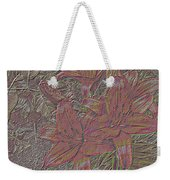 Stylized Sketch With Lily Weekender Tote Bag