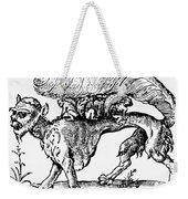 Su Monster (opossum), 1558 Weekender Tote Bag