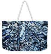 Subconscious Conflicting Battle Weekender Tote Bag