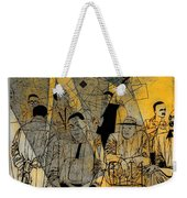 Submitted Cd Cover For The Band Bebop Complex 50's Jazz Revisited Weekender Tote Bag