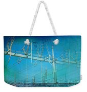 Substation Insulators Weekender Tote Bag