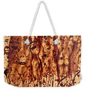 Subtle Atraction Coffee Painting Weekender Tote Bag