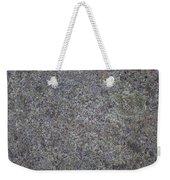 Subtle Lichen On Granite Texture Weekender Tote Bag