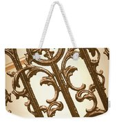 Subtle Southern Charm In Sepia Weekender Tote Bag