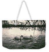 Subtle Swans  Weekender Tote Bag