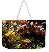 Suburban Autumn Weekender Tote Bag