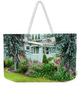 Suburban House Hayward, California 7, Suburbia Series Weekender Tote Bag