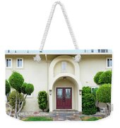 Modern Suburban House With Topiary Hayward California 31 Weekender Tote Bag