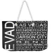 Subway Nevada State Square Weekender Tote Bag