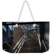Subway Stairs Weekender Tote Bag