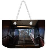 Subway Stairs To Freedom Weekender Tote Bag