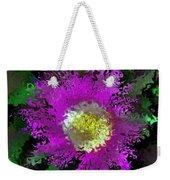 Succulent Bloom Weekender Tote Bag