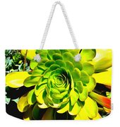 Succulent Close Up Weekender Tote Bag