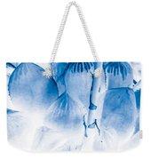 Succulents In Bleu Weekender Tote Bag