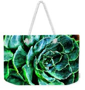 succulents Rutgers University Gardens Weekender Tote Bag