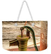 Suction Water Pump Weekender Tote Bag
