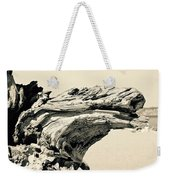 Suddenly A Lone Beach Camel Appeared Weekender Tote Bag