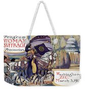 Suffragette Parade, 1913 Weekender Tote Bag