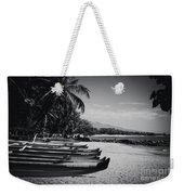 Sugar Beach Hawaiian Outrigger Canoes Kihei Maui Hawaii  Weekender Tote Bag