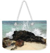Sugar Beach Splash Weekender Tote Bag