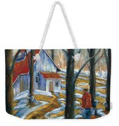 Sugar Bush Weekender Tote Bag
