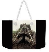 Sugar Cane Cutter Weekender Tote Bag