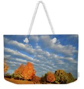 Sugar Maple Sunrise Along Route 31 Weekender Tote Bag