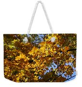 Sugar Maple Weekender Tote Bag