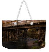 Sugar River Trestle Wisconsin Weekender Tote Bag